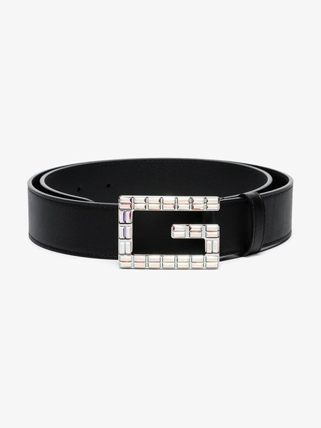 Gucci Square G buckle belt in black