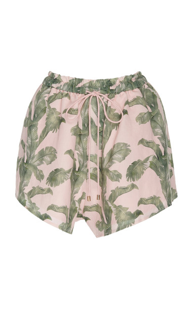 Significant Other Coraline Tropical Linen Short in multi