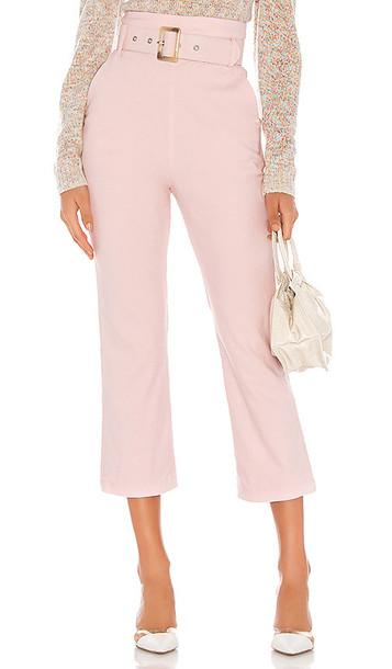 MAJORELLE Camden Pant in Pink