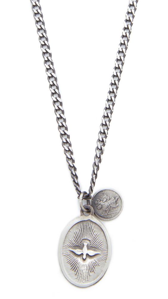 Miansai Dove Pendant Necklace in silver