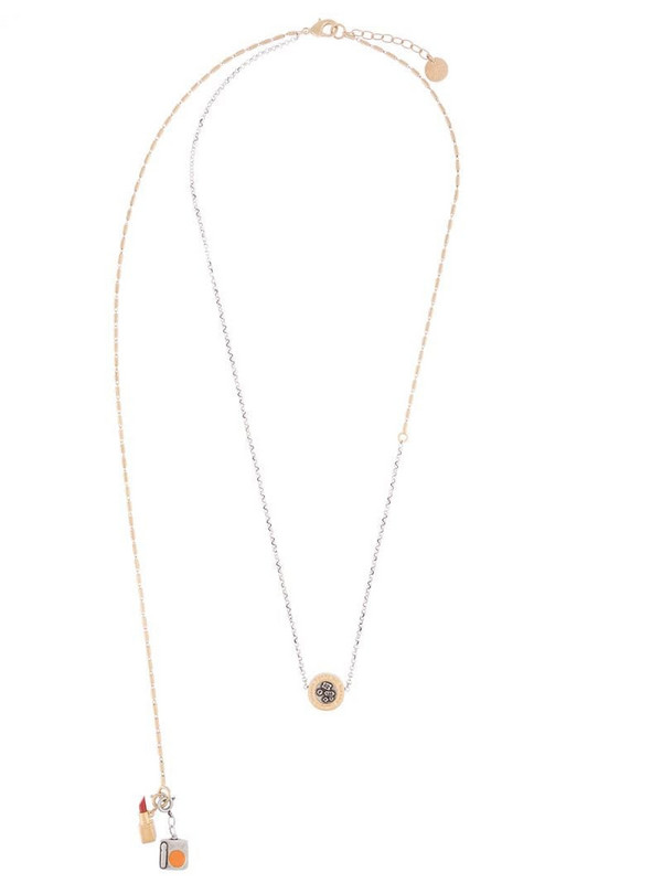 Ports 1961 layered chain necklace in gold