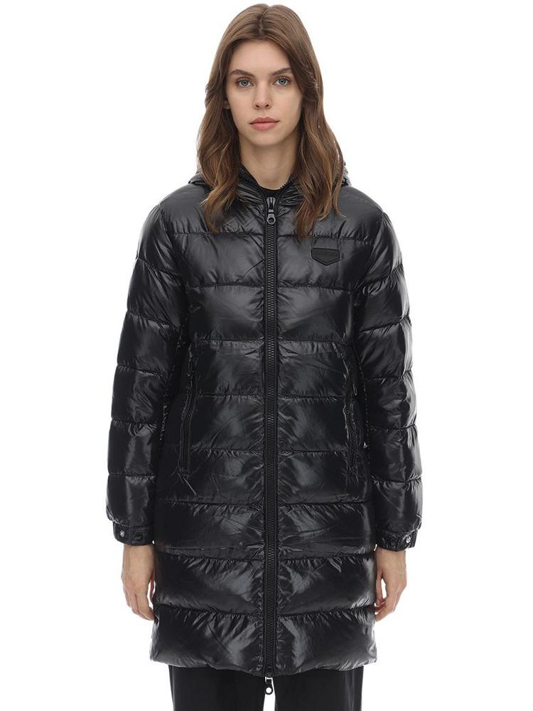 DUVETICA Tyl Nylon Down Jacket in black