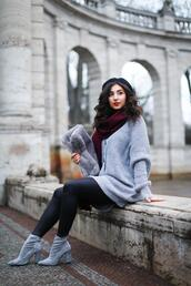 samieze,blogger,cardigan,scarf,shoes,bag