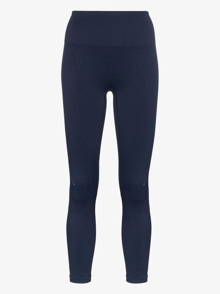 LNDR Blackout sports leggings in blue