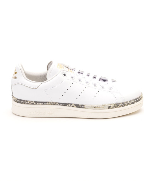 Adidas Adidas Stan Smith New Bold Leather Sneakers in white