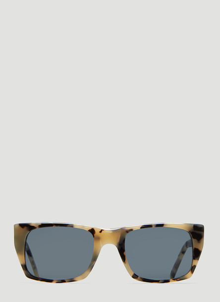 Andy Wolf Hudson Sunglasses in Tortoiseshell size One Size in black