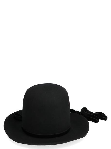 Ann Demeulemeester Hat in black