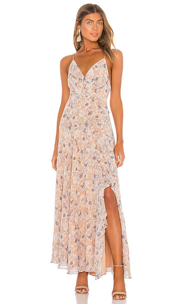 ASTR the Label Holland Dress in Peach