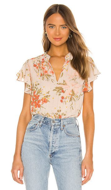 Joie Marlina B Top in Peach