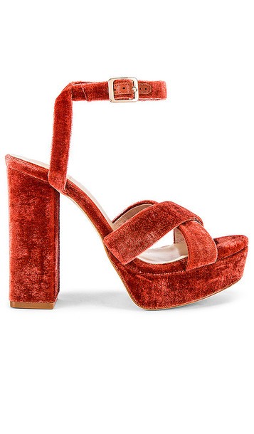House of Harlow 1960 X REVOLVE Ari Heel in Red