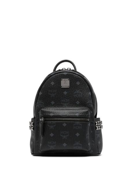 MCM Stark monogram backpack in black