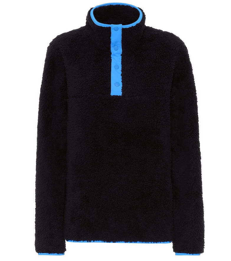 Tory Sport Stretch-cotton sweatshirt in blue