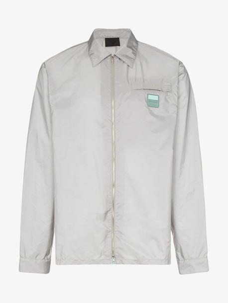 Prada zip up technical jacket