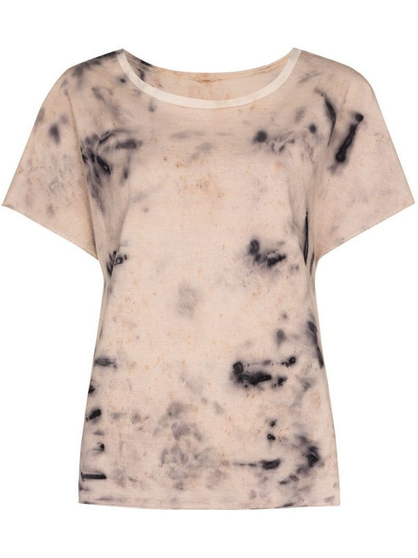 MIMI PROBER Adelaide tie-dye T-shirt in grey