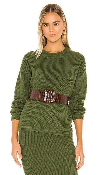 Callahan Malone Sweater in Green