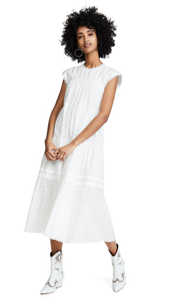 See by Chloe Tunic Dress in white