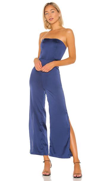 superdown Larissa Jumpsuit in Blue
