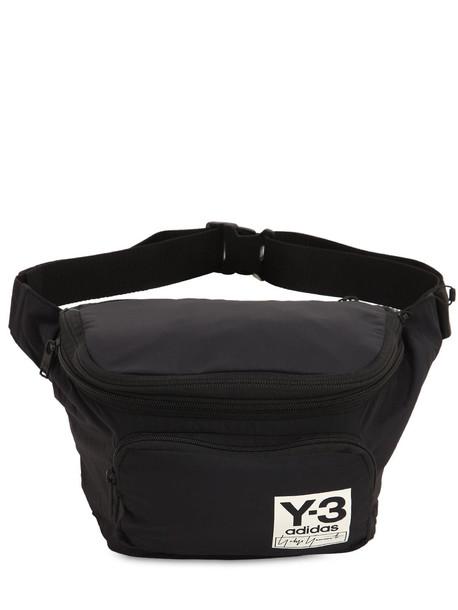 Y-3 Packable Nylon Backpack in black