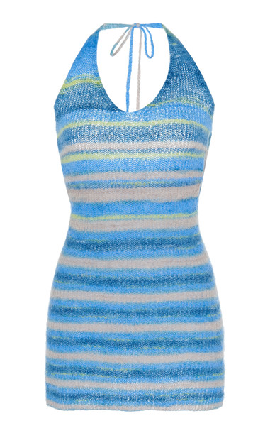 Jacquemus Halter-Style Mini Sweater Dress Size: 34