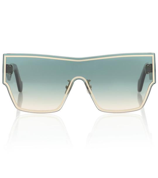 Loewe Rimless rectangular sunglasses in black