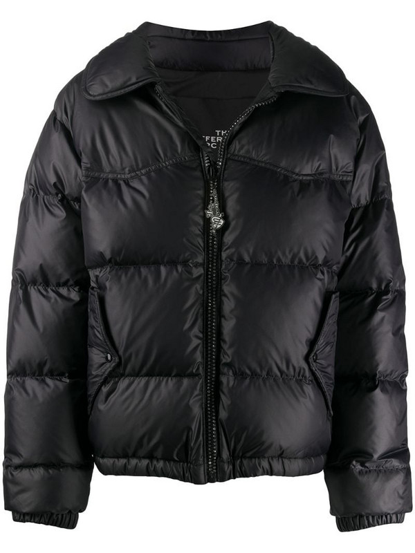 Marc Jacobs zipped puffer jacket in black