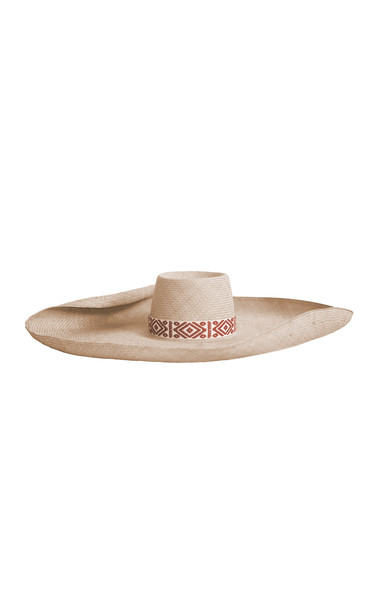Johanna Ortiz La Capitana Sun Hat in neutral
