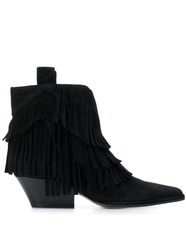 Sergio Rossi sr Carla boots in black