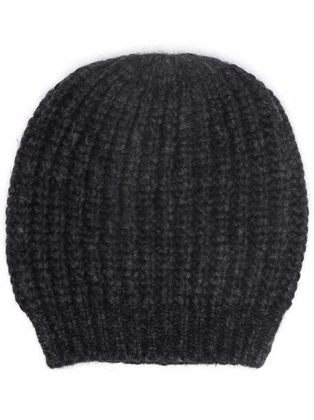 Peserico chunky-knit beanie - Grey