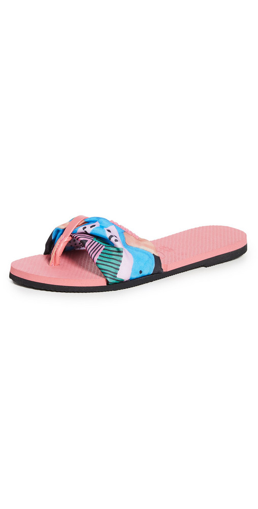 Havaianas You St. Tropez Slides in pink