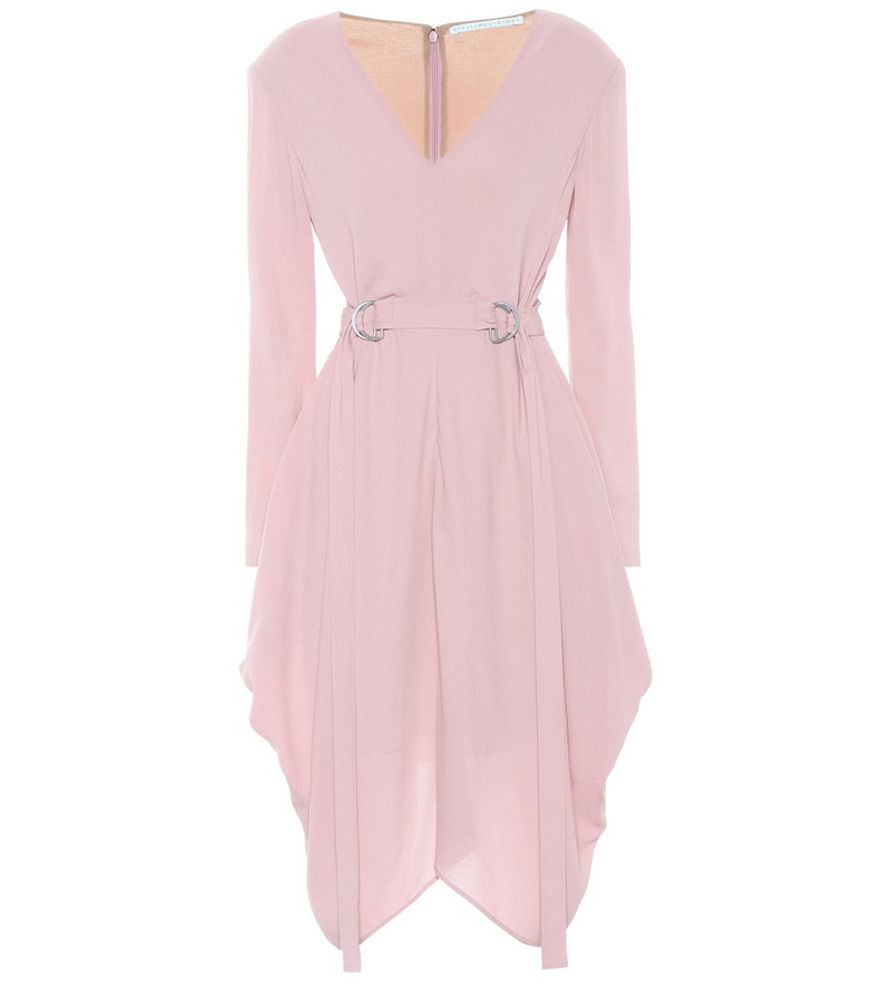 Stella McCartney Exclusive to Mytheresa – Crêpe sablé dress in pink