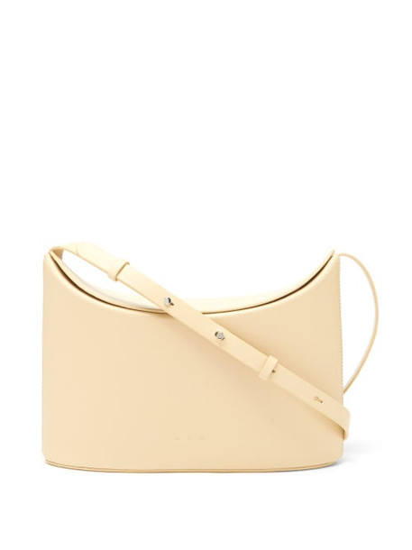 Aesther Ekme - Sway Leather Cross-body Bag - Womens - Beige