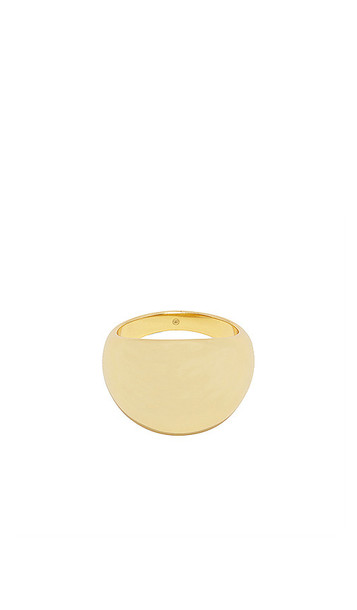 gorjana Farrah Statement Ring in Metallic Gold