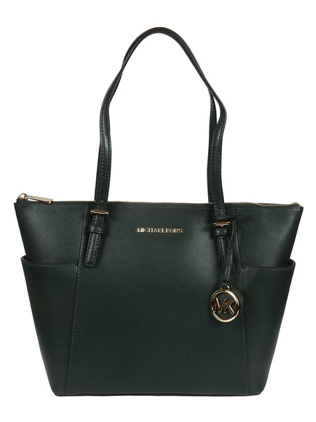 Michael Kors Jet Set Large Tote in green