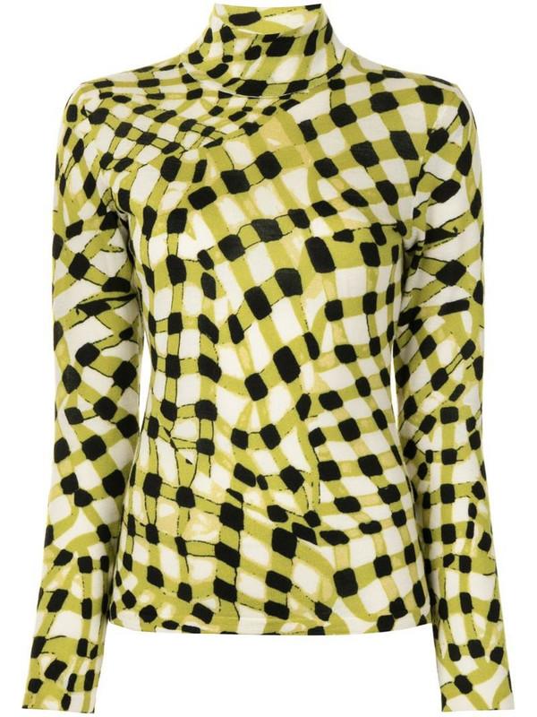 DVF Diane von Furstenberg Brandy merino mock-neck jumper