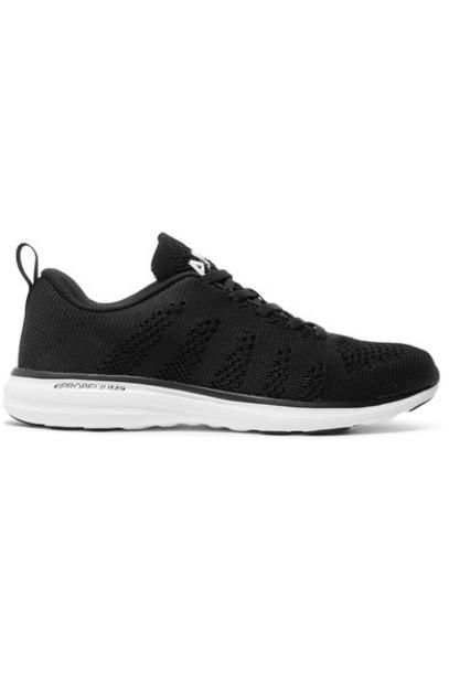 APL Athletic Propulsion Labs - Techloom Pro Mesh Sneakers - Black