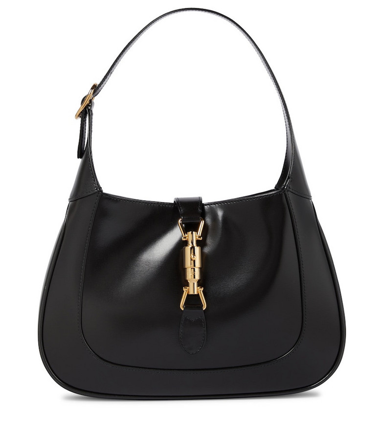 Gucci Jackie 1961 Small leather shoulder bag in black