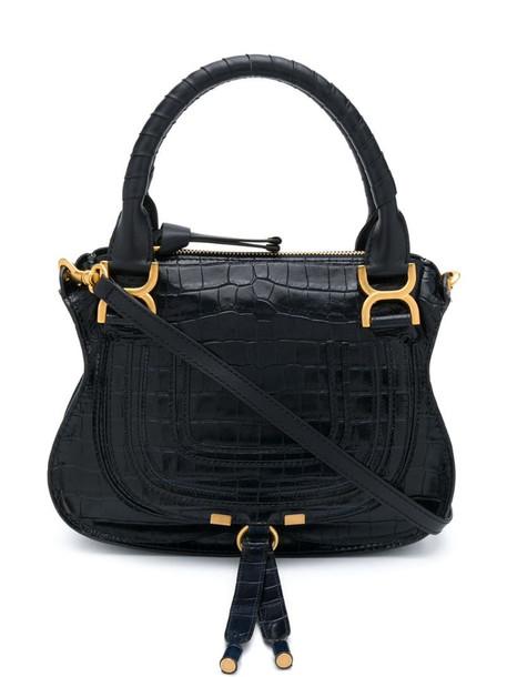 Chloé small Marcie handbag in blue