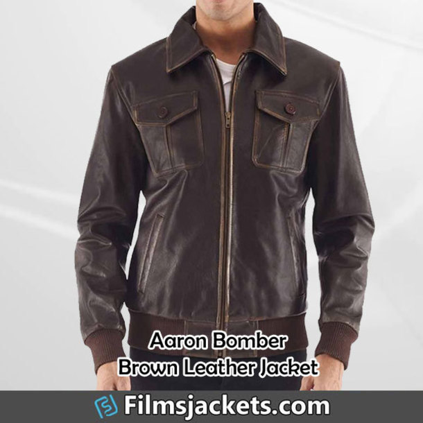 coat brown leather bomber jacket leather jacket jacket fashion outfit menswear mens  fashion men's outfit lifestyle