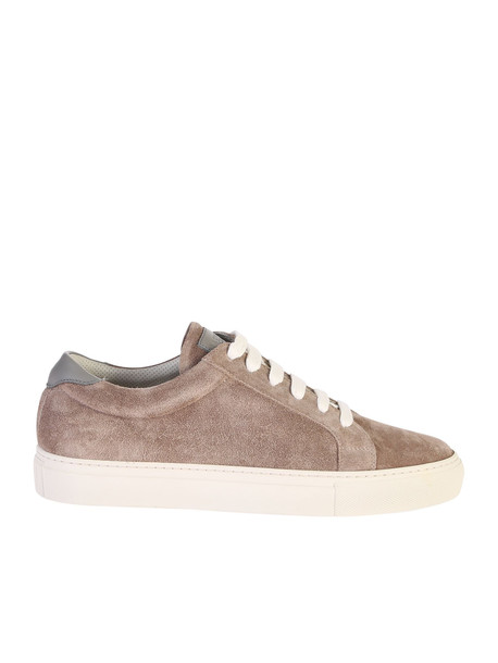 Brunello Cucinelli Suede Leather Sneakers in brown