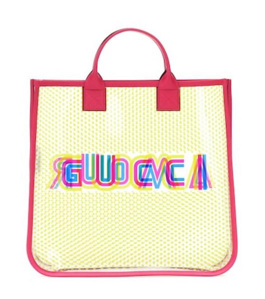 Gucci Kids Printed vinyl shopper