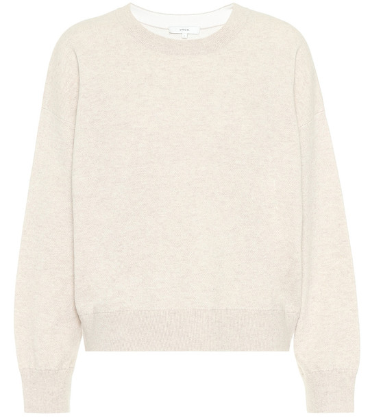 Vince Cashmere sweater in beige