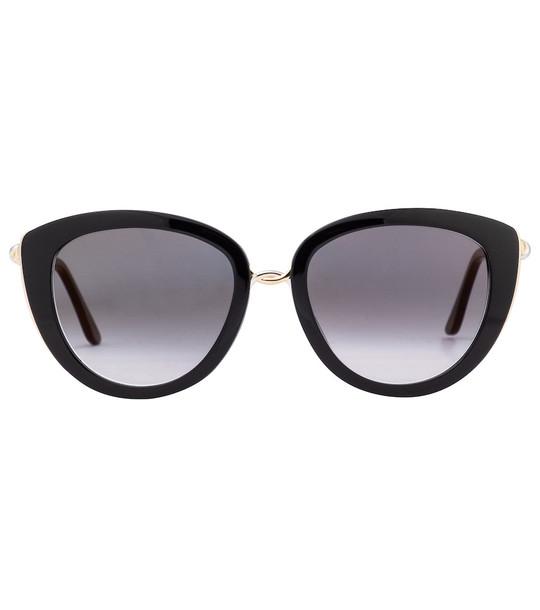 Cartier Eyewear Collection Trinity de Cartier sunglasses in black