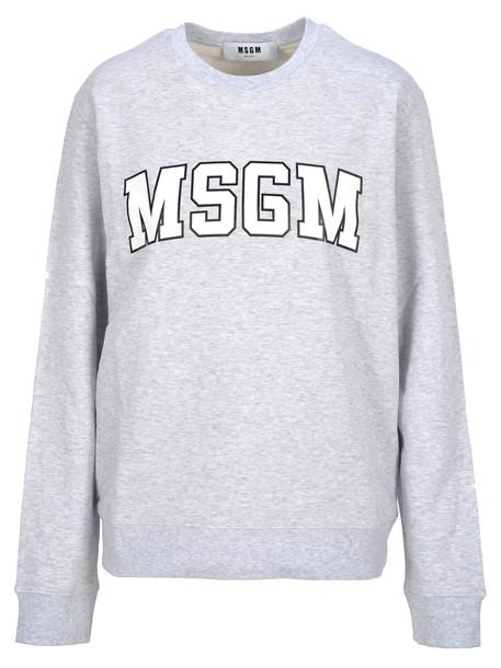 Msgm Msgm Logo Print Sweatshirt