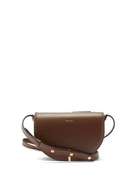 Wandler - Nana Leather Cross-body Bag - Womens - Brown