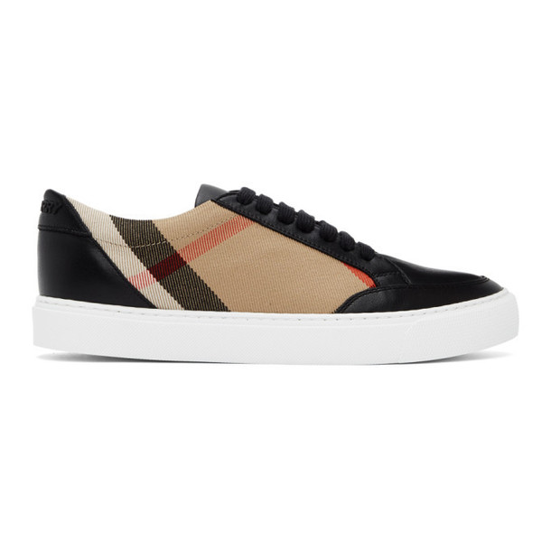 Burberry Black New Salmond Sneakers