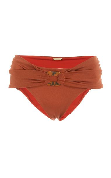 Johanna Ortiz Profundidad Marina Bikini Bottoms in brown