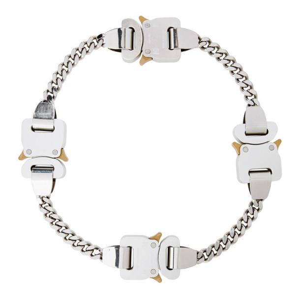 1017 ALYX 9SM Silver Buckle Hero Chain Necklace