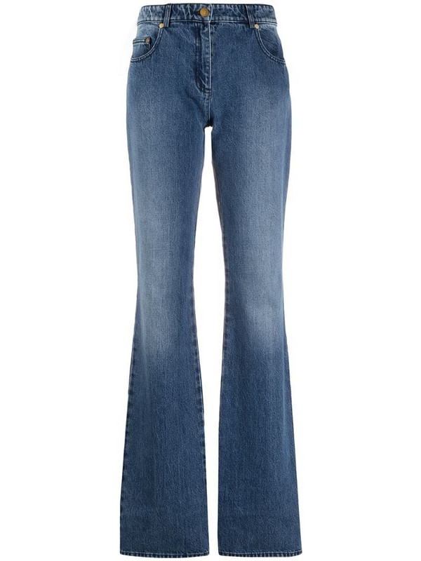 Michael Michael Kors high-rise bootcut jeans in blue