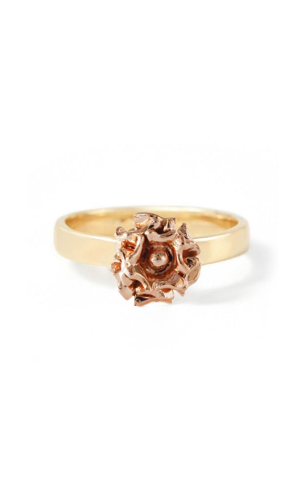 Bernard James Rosa 14K Yellow and Rose Gold Ring in multi