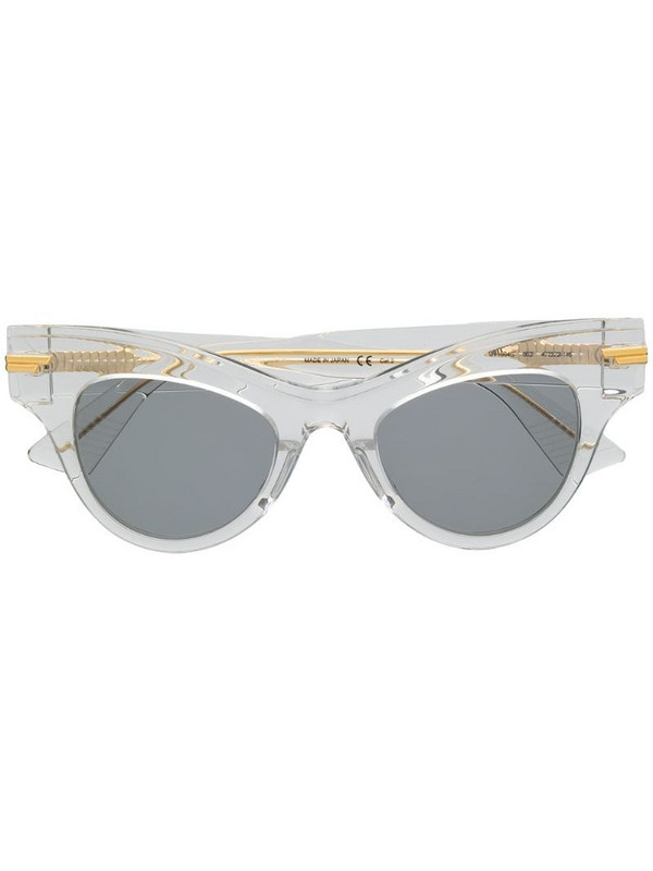 Bottega Veneta Eyewear The Original 04 sunglasses in white